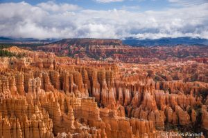 View from Inspiration Point in Bryce Canyon National Park