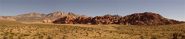 Red Rock panorama