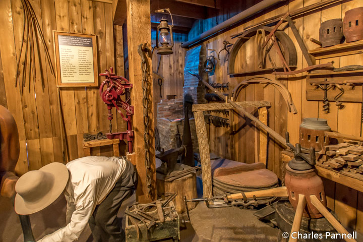 Tack room at the Pony Express Museum