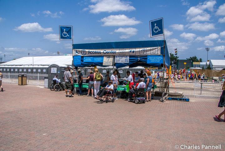 Jazz Fest Access Center