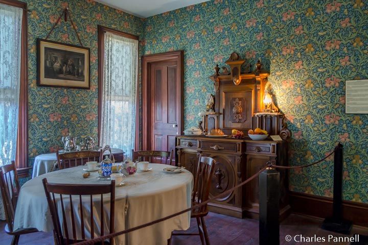Dining room in the Murdock House