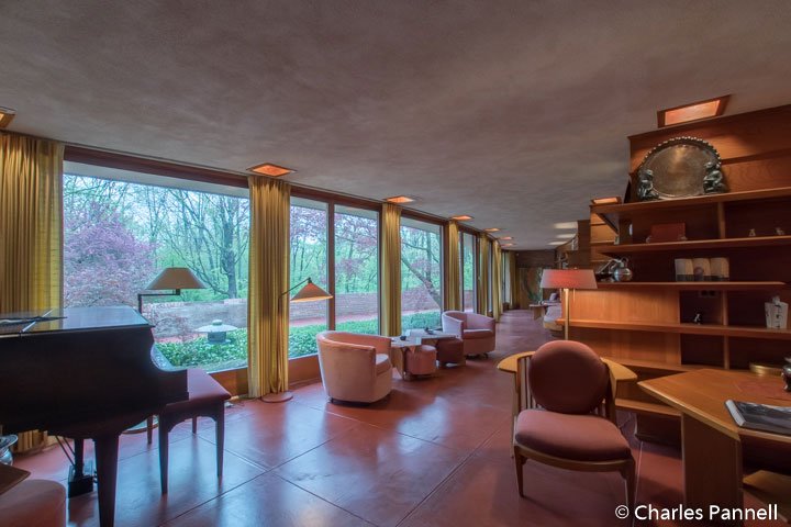 And while you're in the neighborhood, make sure and visit this Frank Lloyd Wright accessible Usonian home in nearby Rockford.