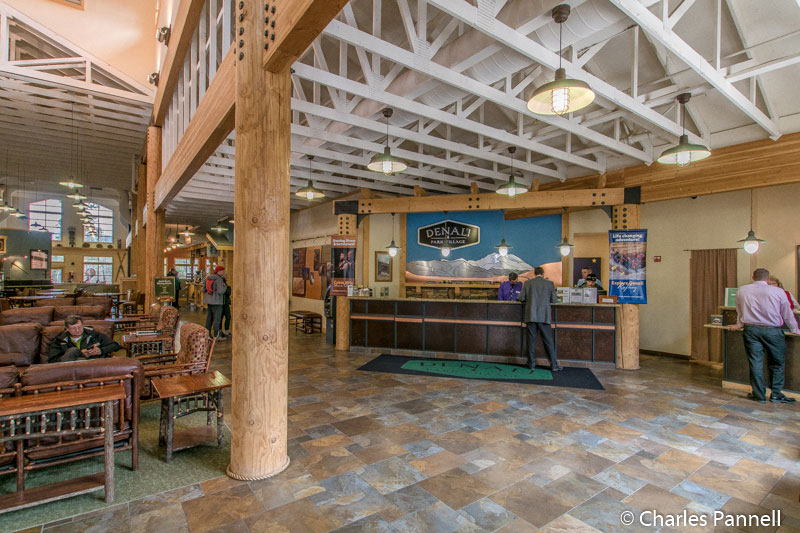 Lobby at Denali Park Village