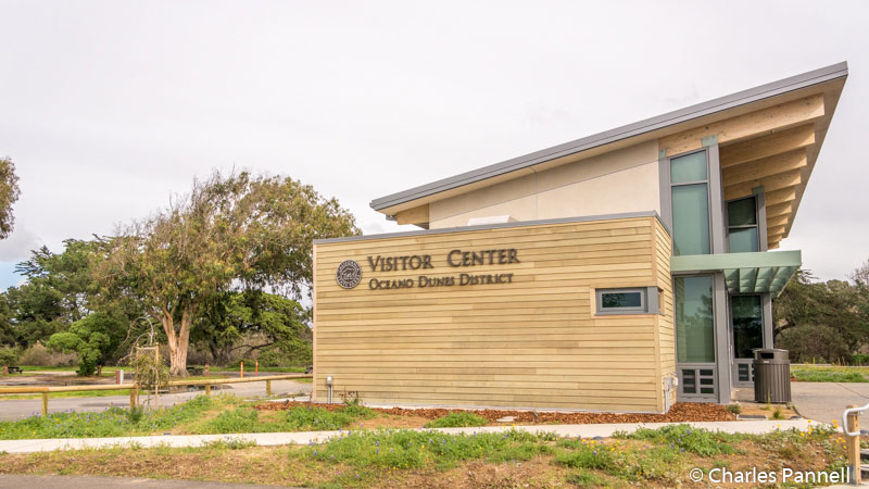 Visitor center at the Oceano Campground