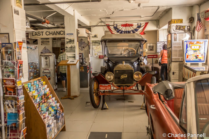 The Barstow Route 66 Mother Road Museum has an eclectic collection