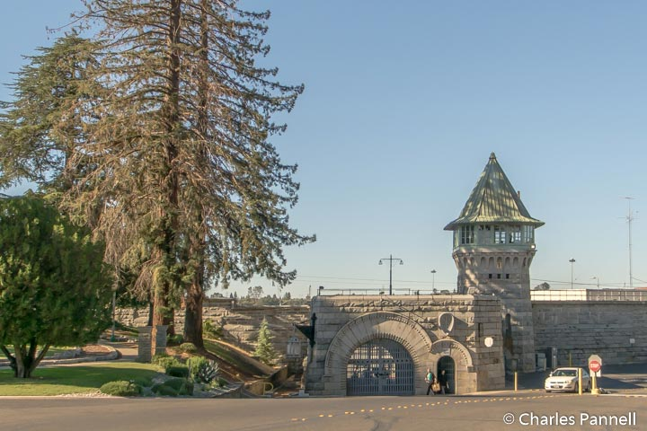 The East Gate to Folsom Prison