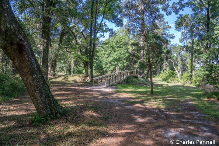 The Earthworks trail at Suwannee River State Park