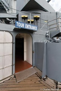 Entrance to the main deck