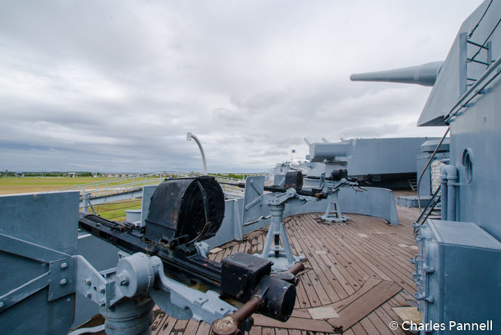 Top Deck of the USS Alabama