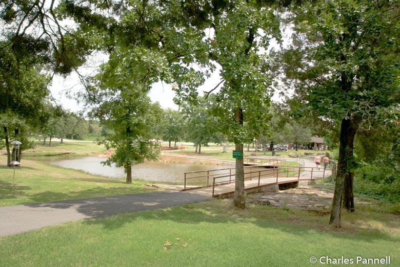 Family Fun Trail in Greenleaf State Park