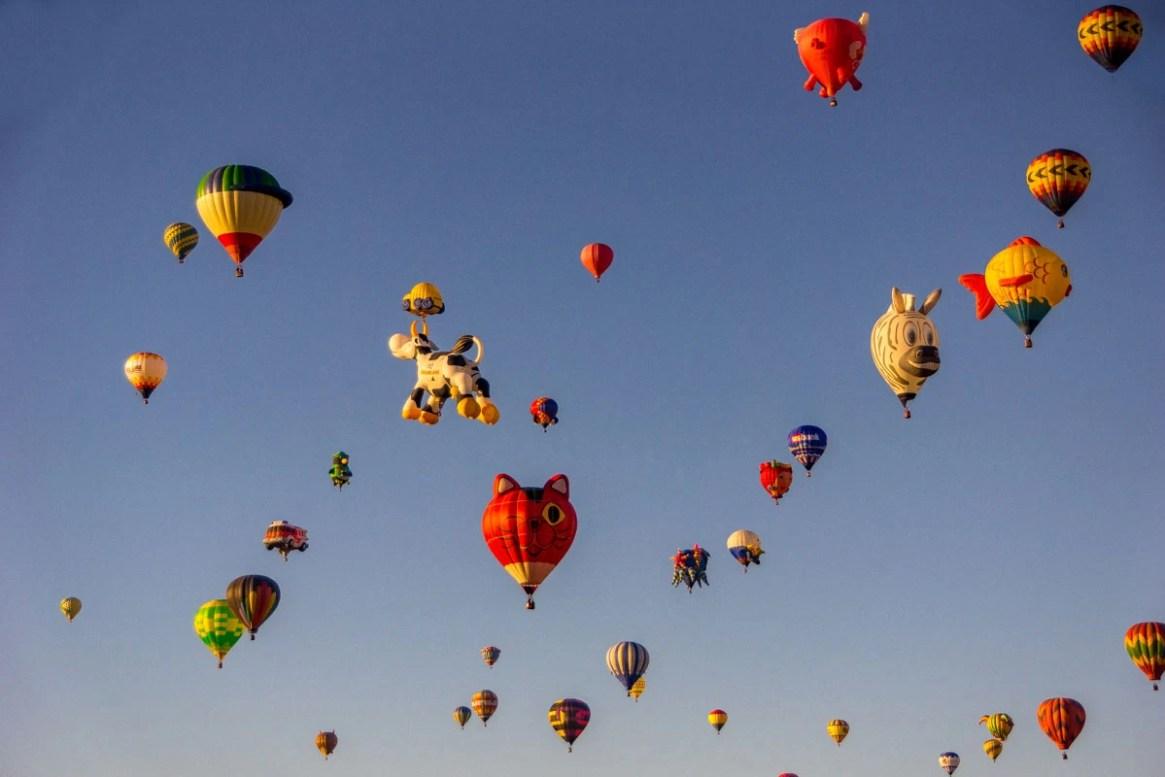 Balloons at the Albuquerque Balloon Fiesta