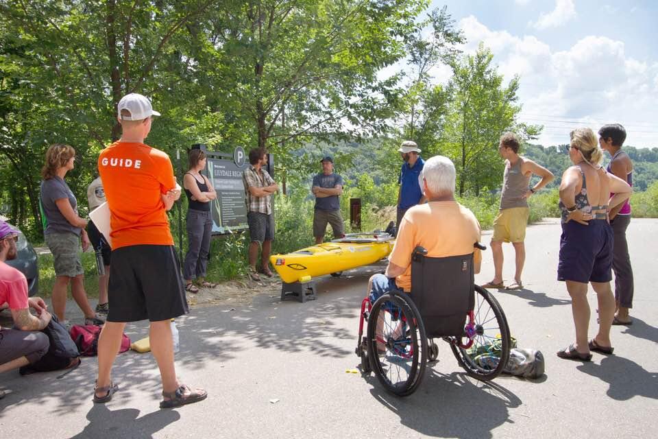 Paddle Share Station at Pickerel Lake, Minnesota