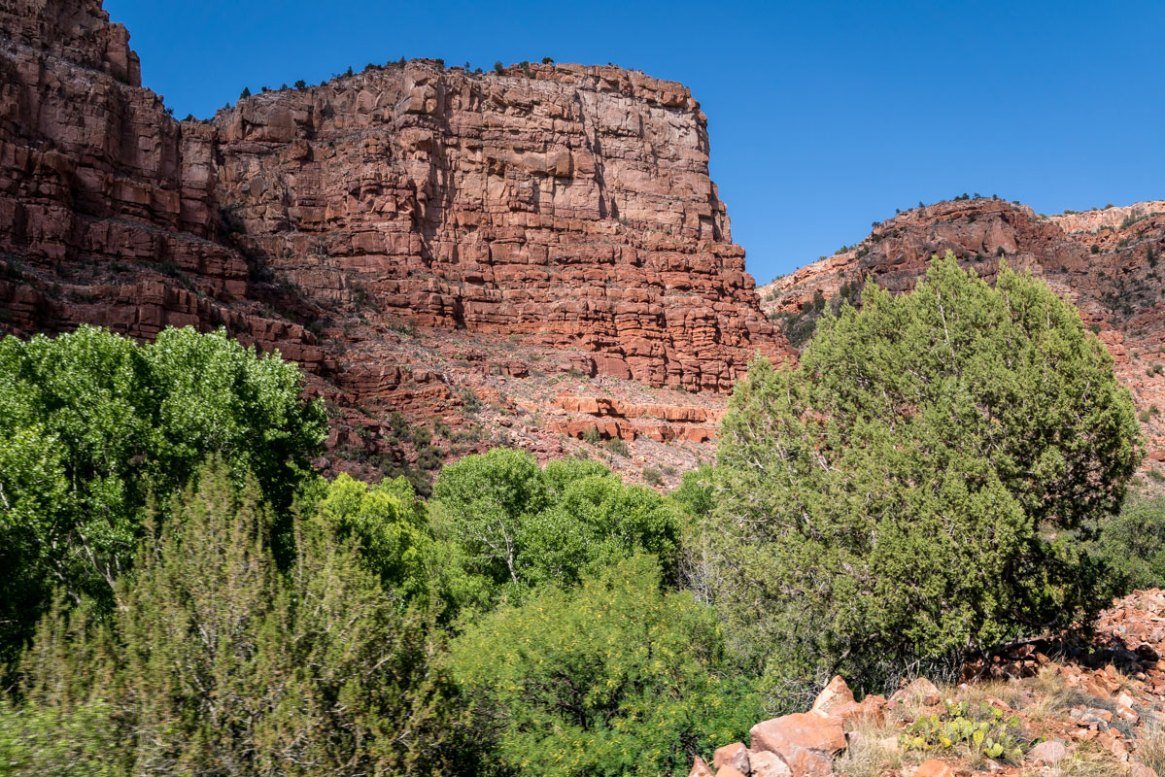 View on theVerde Canyon Railroad