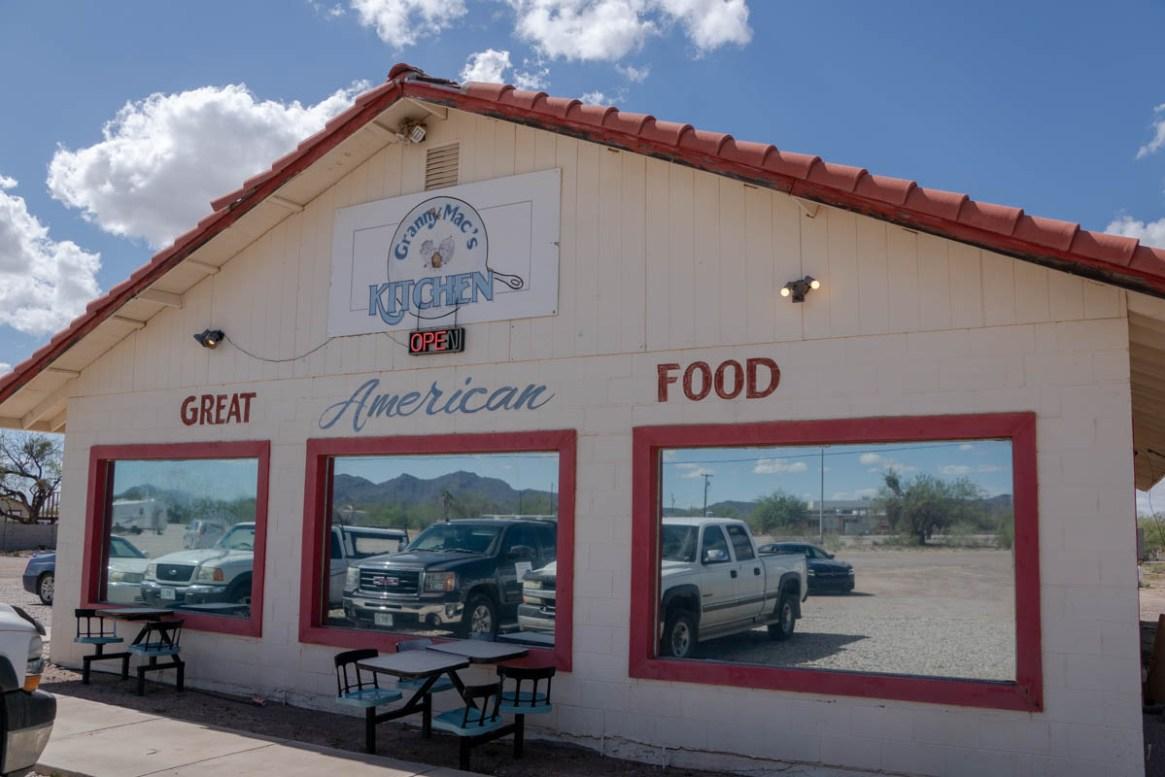 Granny Mac's Kitchen in Why, Arizona