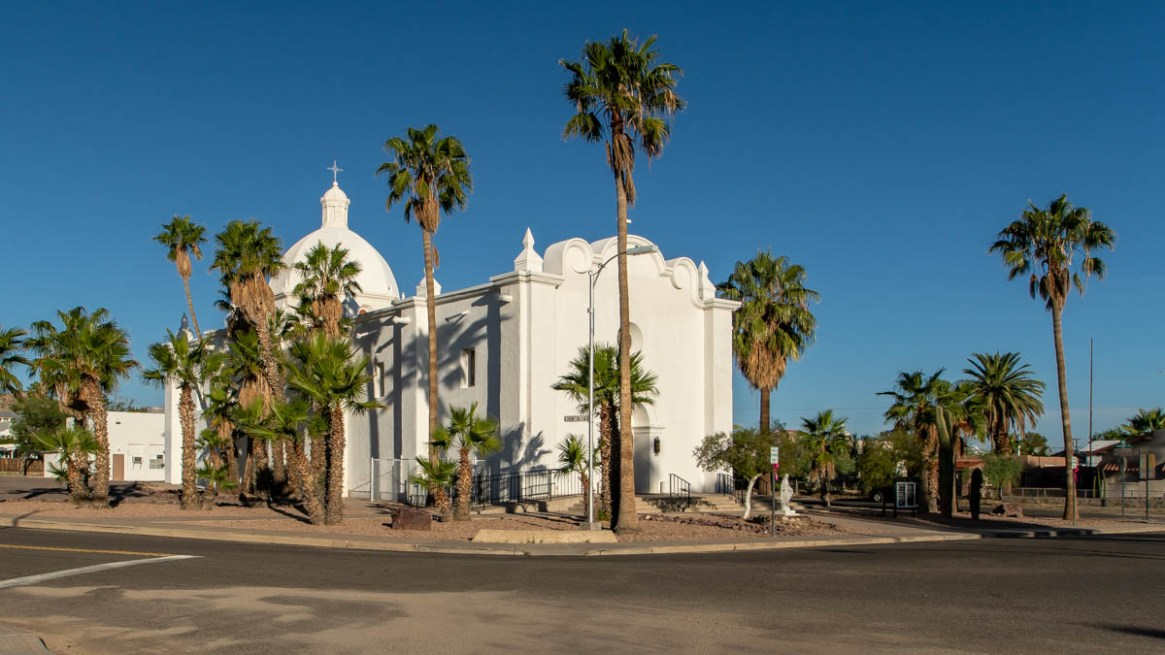 Immaculate Conception Catholic Church in Ajo, Arizona