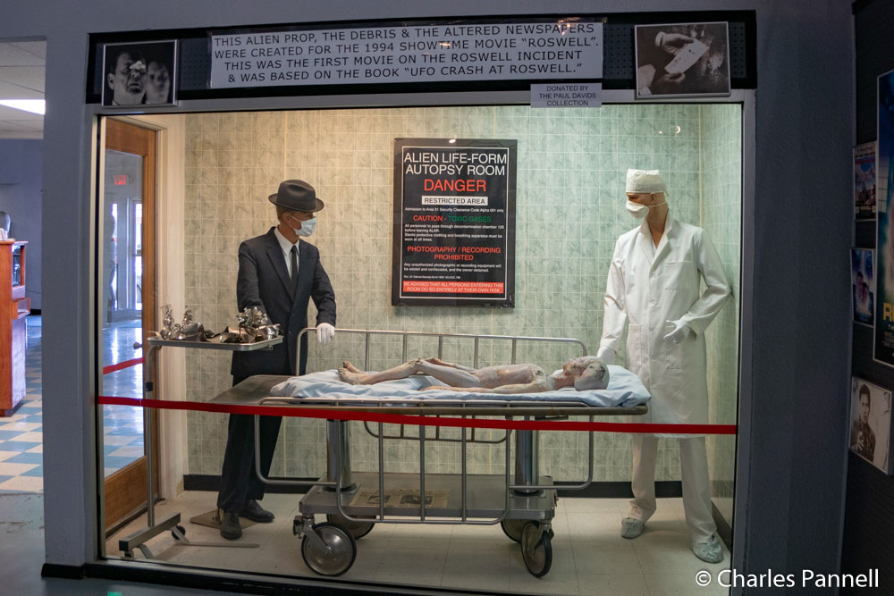 Movie prop in International UFO Museum and Research Center