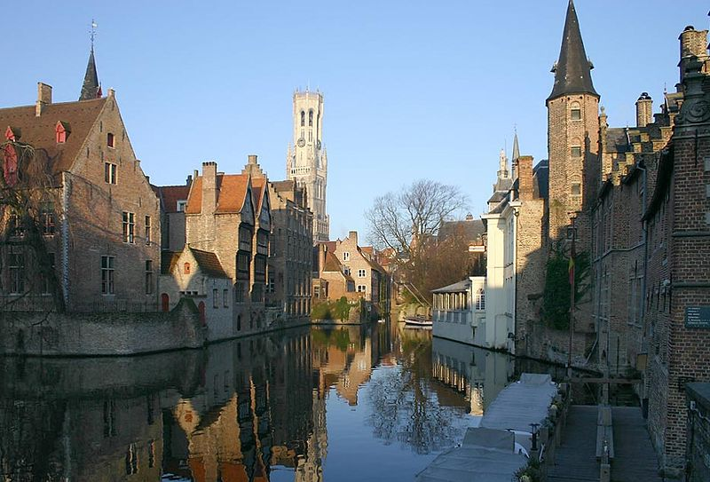 Brügge, Belgium - Historic City Center