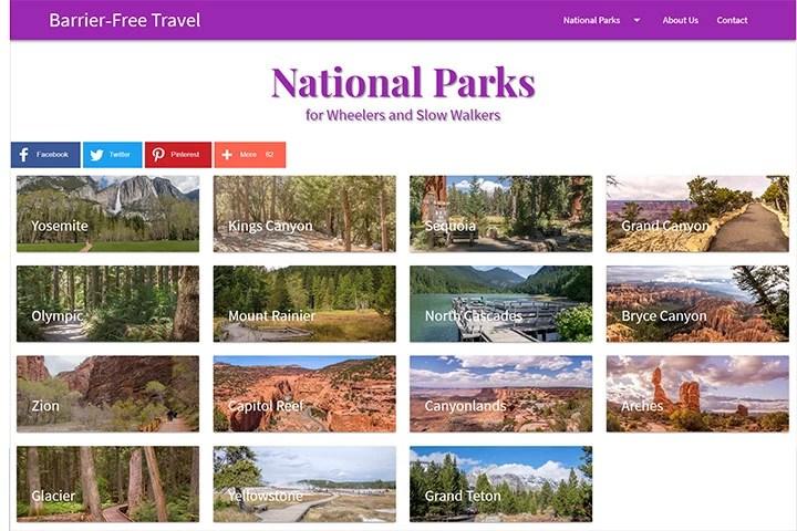 Barrier-Free National Parks