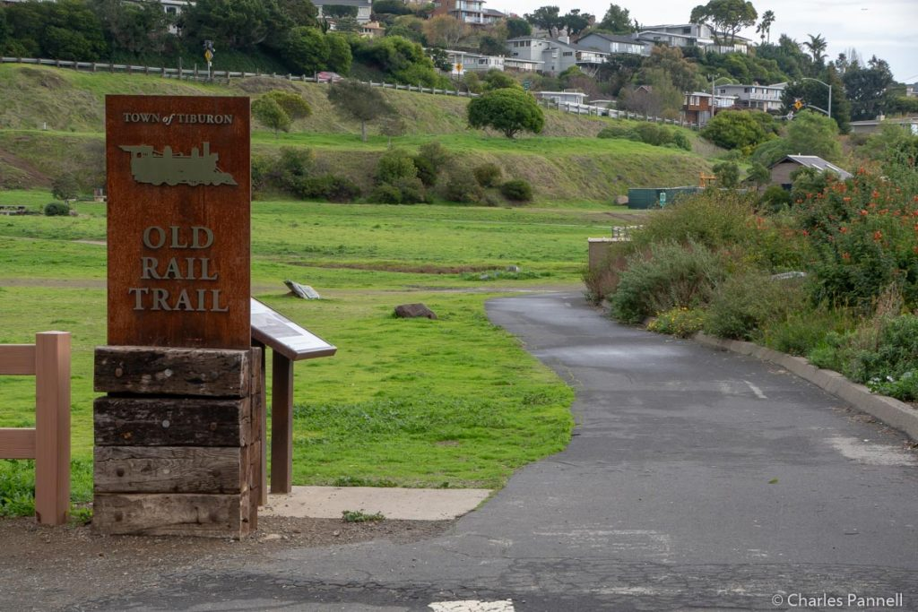 The Tiburon Rail Trail at Blackie's Pasture