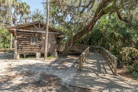 Civilian Conservation Corps cabin 1 at Myakka River State Park