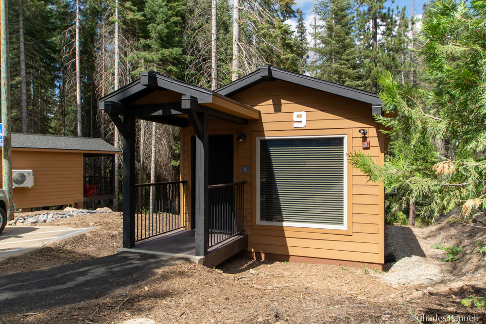 Exterior of Explorer Cabin 9