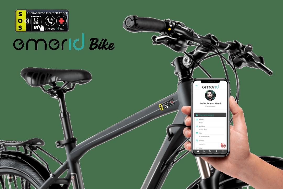 Emerid Bike Identificador NFC para tu bicicleta