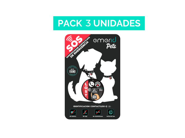 PACK 3 Emerid Pets