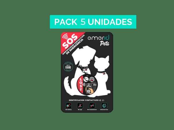 PACK 5 Emerid Pets