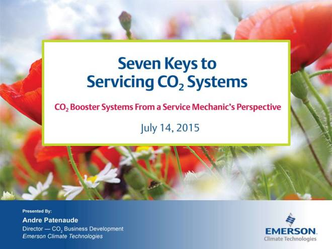 Seven Keys to Servicing CO2 Systems