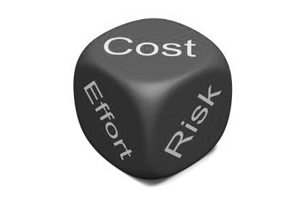 cost-effort-risk-red-dice