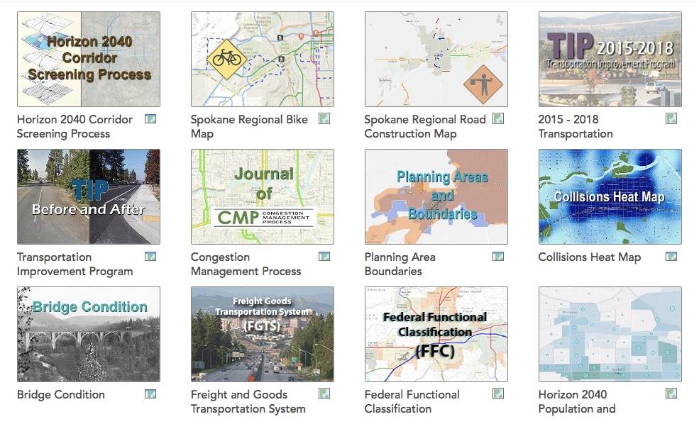 New Spokane Transportation Maps EmersonGarfield Community