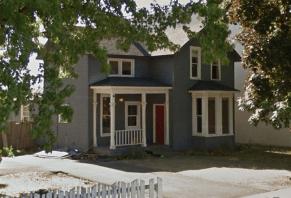 Pre-demolition home (summer 2017) at 1320 N Lincoln St.