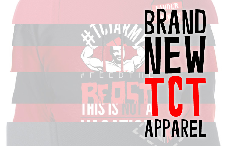 Brand new TCT Apparel now available at the online shop!