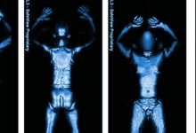 Photo of EMF from Airport Body Scanners