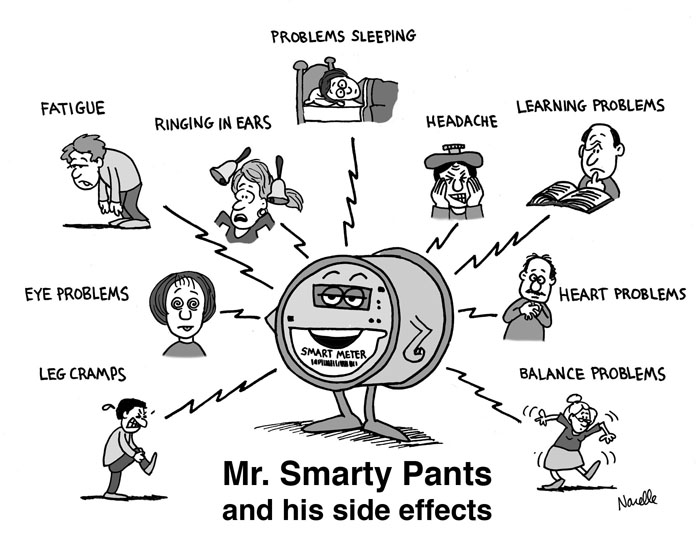 Smart meter health problems compared