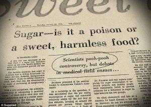 Sugar. Toxic