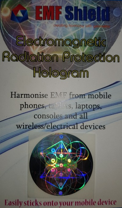 EMF Shield single hologram