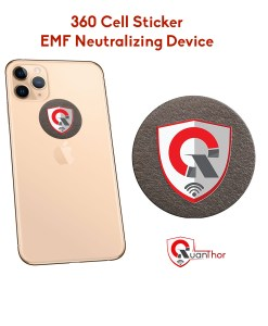 EMF neutralizer anti radiation shield for phone, laptop, ipad