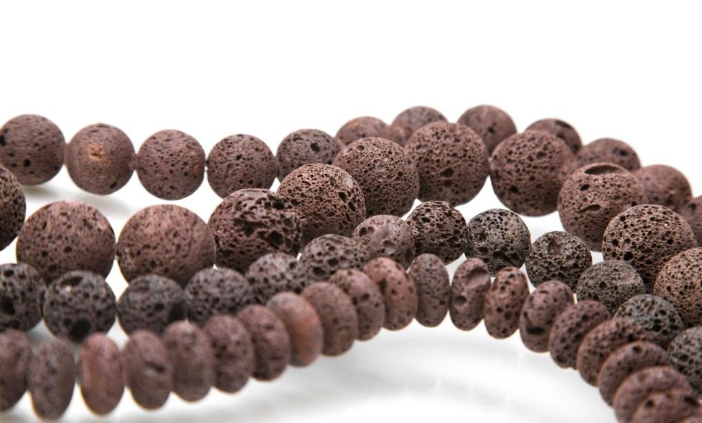 lava stone beads