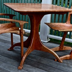 Low Back Lawn Chair 9 Ikea Dining Covers Australia Eastern Massachusetts Guild Of Woodworkers Member Public Profile Maloof Style Nakashima Conoid Pedestal Table All In Cherry