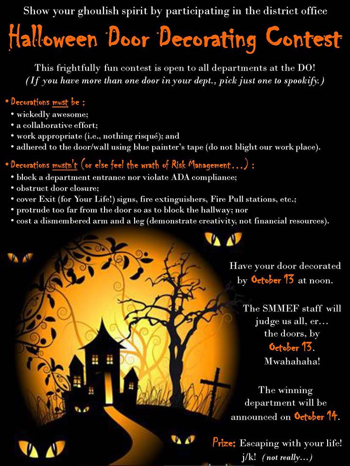 halloweendoorcontest