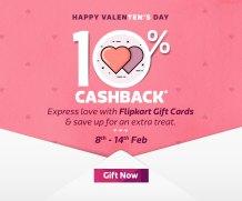 Flipkart Gift Voucher 10% off [expired]