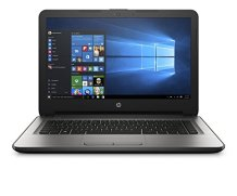 HP 14-AM081TU 14-inch Laptop (Core i5 6th Gen/4GB/1TB/Windows 10 Home/Integrated Graphics), Turbo Silver on emi