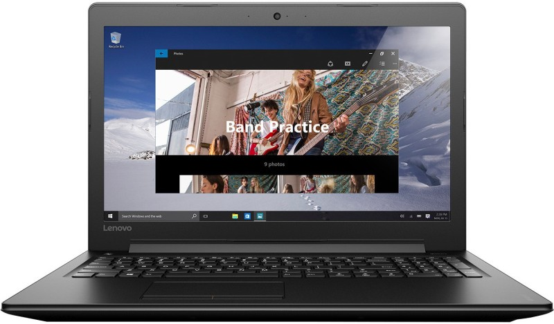 Lenovo Core i5 6th Gen - (8 GB/1 TB HDD/Windows 10 Home/2 GB Graphics) 80SM01EFIH IP 310 Notebook(15.6 inch, Black, 2.2 kg)