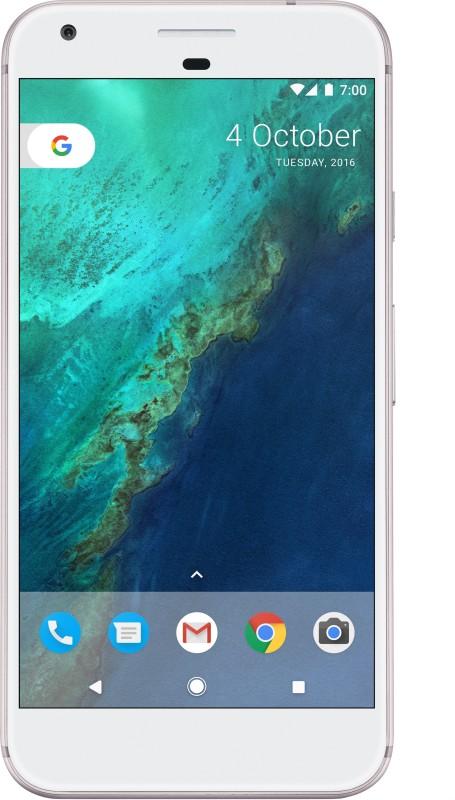Google Pixel (Very Silver, 128 GB)