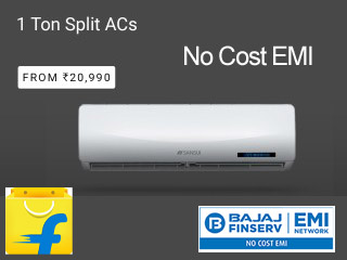 AC on NO Cost EMI