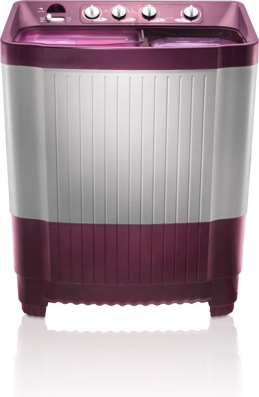 MarQ by Flipkart 8.5 kg Semi Automatic Top Load Washing Machine Maroon, White(MQSA85)