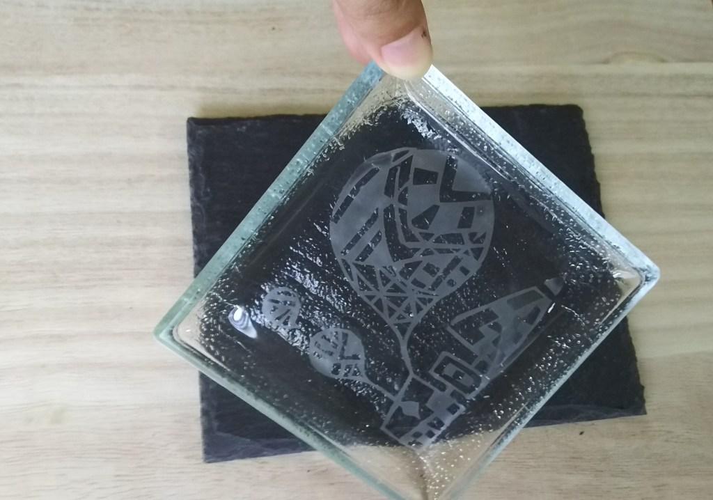 パターンアートガラス