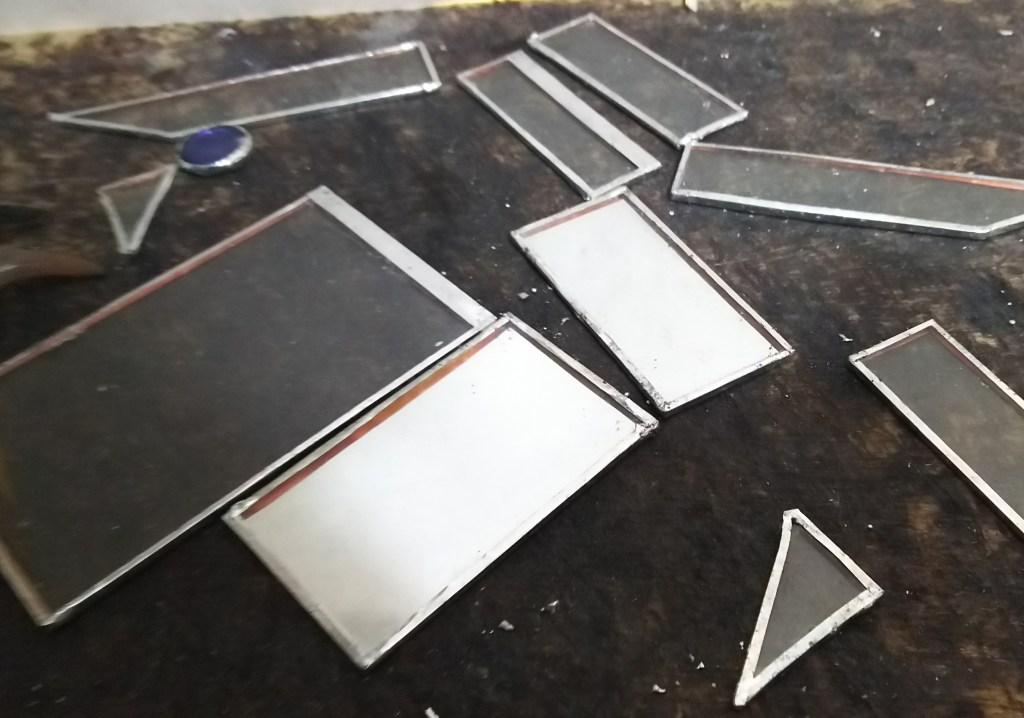 蝶番付きステンドグラス作り方
