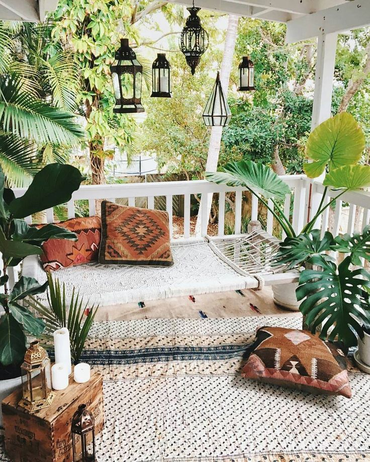 Bohemian Plant Decor